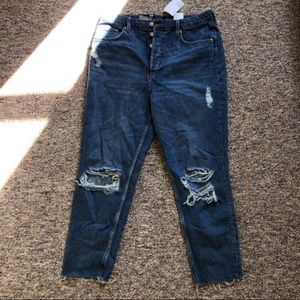 NWT H&M MOM JEANS